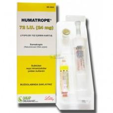 HUMATROPE 72 I.U.