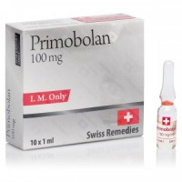 SWISS REMEDIES PRIMOBOLAN 10AMP - 100MG/ML