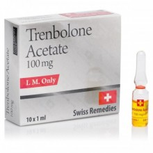 SWISS REMEDIES TRENBOLONE ACETATE 10AMP - 100MG/ML