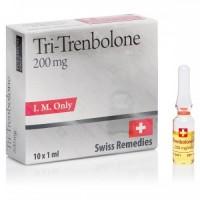 SWISS REMEDIES TRI-TRENBOLONE 10AMP - 200MG/ML