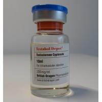 BRITISH DRAGON TESTABOL DEPOT 10ML - 200MG/ML