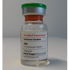 BRITISH DRAGON TESTABOL ENANTHATE 10ML - 250MG/ML