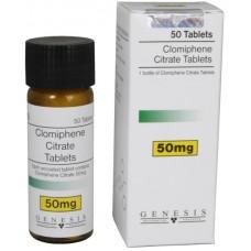 GENESIS CLOMIPHENE CITRATE TABLETS 50 TAB - 50MG/TAB