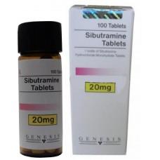 GENESIS SIBUTRAMINE TABLETS 100 TAB - 20MG/TAB