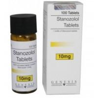 GENESIS STANOZOLOL TABLETS 100 TAB - 10MG/TAB