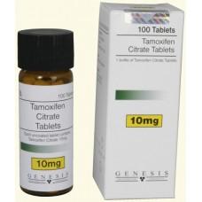 GENESIS TAMOXIFEN CITRATE TABLETS 100 TAB - 10MG/TAB