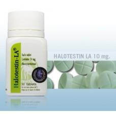 LA PHARMA HALOTESTIN LA® 30 TAB - 10MG/TAB